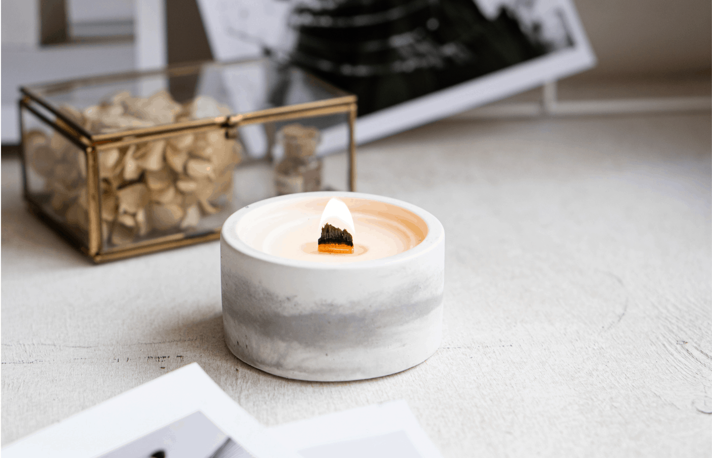 how to use a candle when the wick is gone