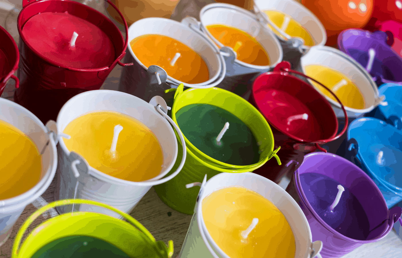 Can You Use Acrylic Paint in Candle Making