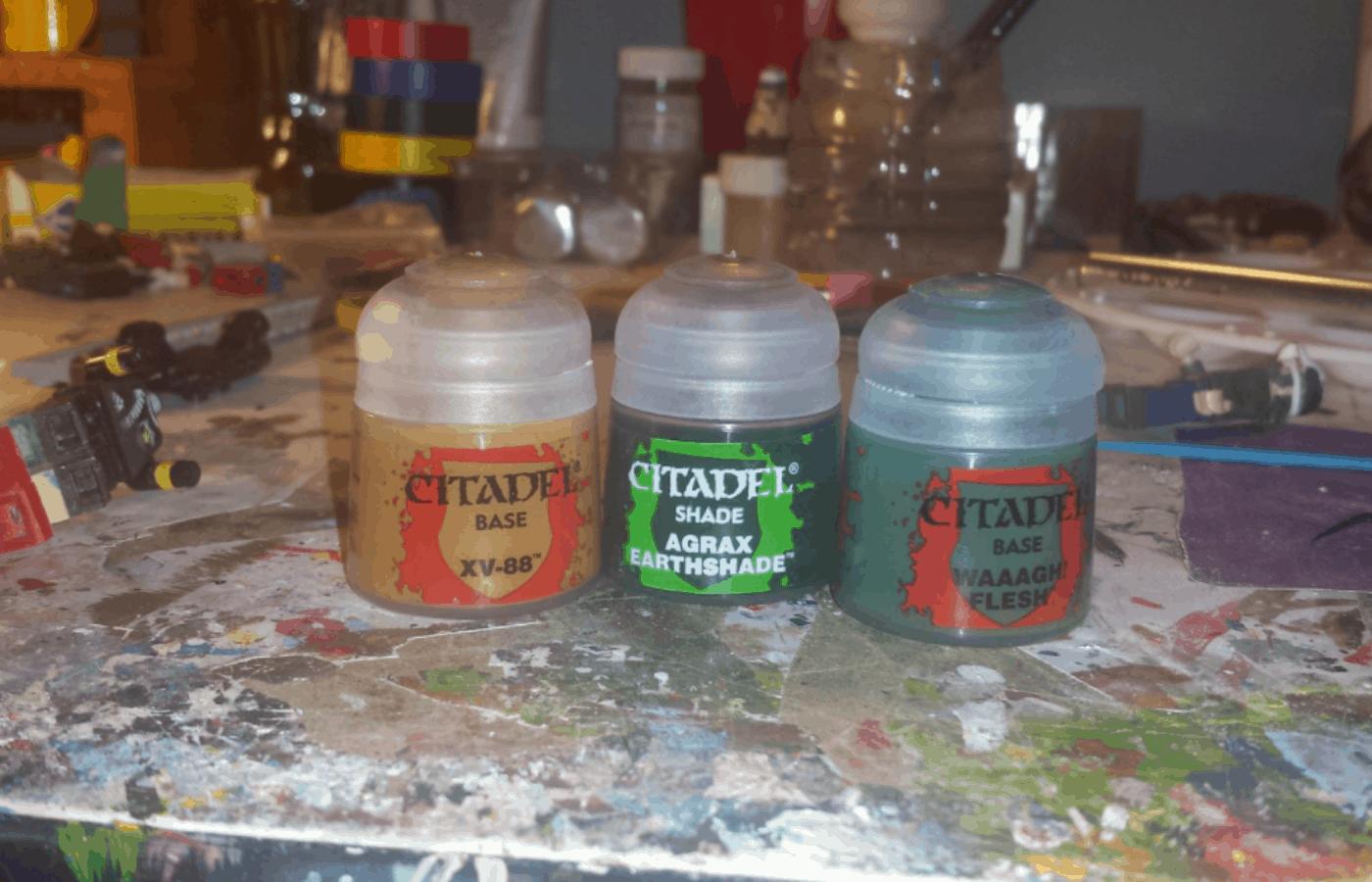 How to OrganizeStore Citadel Paints